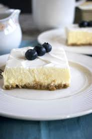 mom u0027s cheesecake with sour cream topping