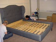 Upholstered Bed Frame Full Best Headboard Tutorial This Is Exactly Like The One I U0027ve Been