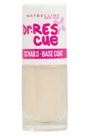 dr rescue nail care base coat maybelline
