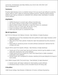 Agile Testing Resume Sample by Professional Agile Developer Templates To Showcase Your Talent