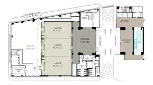 Hotel Lobby Floor Plans Event Spaces