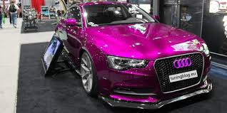 pink audi a6 rendering magnaflow project pink audi a5 by tuningblog eu