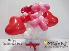 Valentines Day Balloon Decor by Creative Balloon Decor Liana Balloon Flowers Pinterest