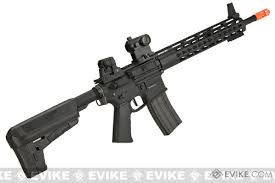 krytac full metal trident mk2 spr airsoft aeg rifle color black