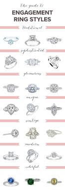 types of wedding ring what is your engagement ring style engagement ring styles