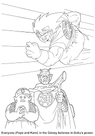 dragon ball z coloring pages coloringpages1001 com