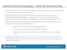 seattle city light change of address resources marketing service centers facilities master planning