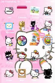 Kitty Iphone Theme Cartoons Iphone Themes Winterboard