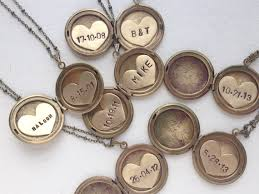 personalized locket necklace personalized jewelry initial necklace bridal jewelry vintage