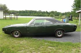 1968 dodge charger green hanotras car auction