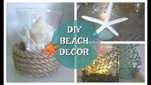 Summer Decor Diy Beach Decor Diy Summer Decor Seashell Coastal Youtube