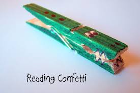 crocodile counting reading confetti