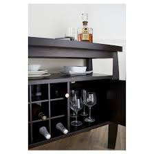 Curved Sideboard Angla Modern Bold Curved Dining Buffet Cappuccino Homes Inside