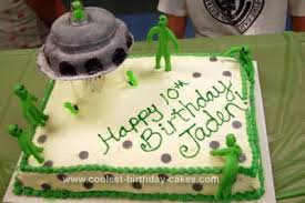 coolest homemade ufo cakes
