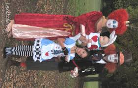 Family Matching Halloween Costumes The Wonderland Family U2013 Halloween Costumes
