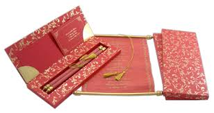 Creative Indian Wedding Invitations Lotushaus Indian Love Letters And Scroll Wedding Invitations
