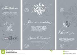 Example Of Wedding Invitation Cards Wedding Invitation Stock Image Image 35397511