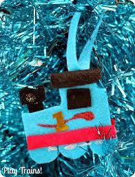 kid made felt ornament