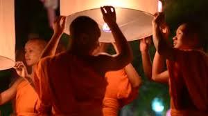 Festival Of Lights Thailand Loi Krathong Festival Thousands Of Floating Lanterns In The Sky