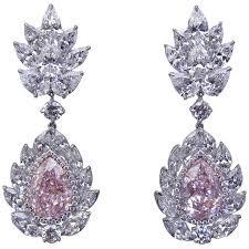 pink diamond earrings 282 best my diamond collection images on diamond