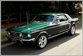ford mustang 1968 coupe cars of the 60 s and 70 s what are your favorites page