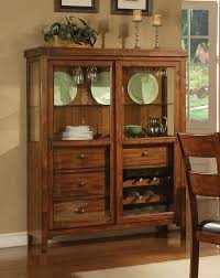 Corner Dining Hutch Curio Cabinet Corner Buffet Hutch Ashley Furniture And With