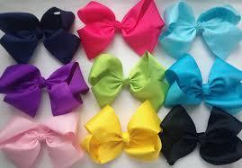 large hair bows 8 inch large hair bows colors fancy me boutique