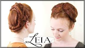 general hairstyles leia hair tutorial from star wars the force awakens youtube