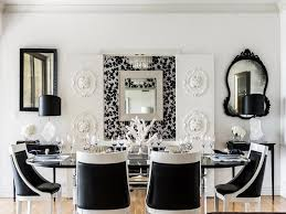 Modern White Dining Room Chairs Modern Dining Room Black And White For Modern Concept Red White