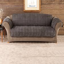 Surefit Sofa Covers by Surefit Sofa Cover Sure Fit Designer Suede Individual Cushion 3