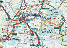 Central Michigan University Map Strasbourg Map