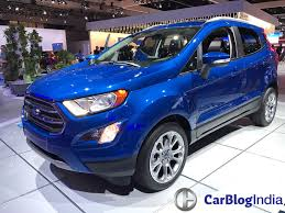 2017 ford ecosport india launch date price specs interior features