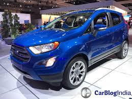 2017 ford ecosport india launch date price specs interior features