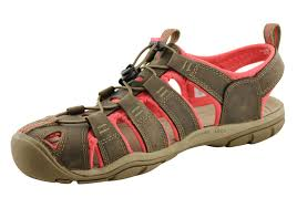 keen clearwater cnx leather womens comfortable sandals brand