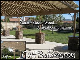 Covered Gazebos For Patios Patio Covers And Decks Santa Clarita Christopher French Construction