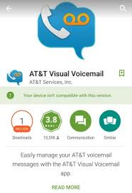 visual voicemail for android visual voicemail error couldn t open connection t at t community
