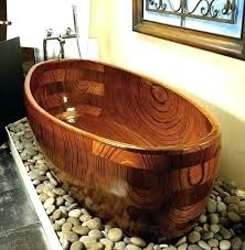 wooden bathtub wooden bathtubs unique wood designs custom wooden bathtub offers