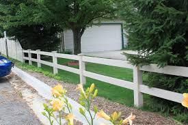 pvc post and rail fence crossbuck two three and four rail fence