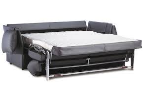 Sofa Bed  Contemporary  Leather  Steel IRIS L Neology Paris - Sofa bed designer
