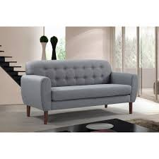Modern Sofa Leather by Design Mid Century Loveseat Leather Loveseats Modern Leather