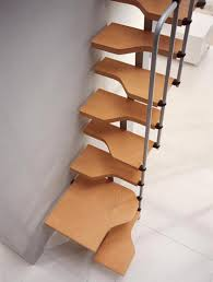 staircases for small spaces also make beautiful decorations