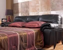 Black Leather Sleeper Sofa by 72 Inch Leather Sleeper Sofa Centerfieldbar Com