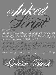 10 best tattoo fonts typefaces that give your letters a hand