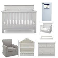 Convertible Crib And Dresser Set Crib Furniture 7 Nursery Set With Crib Mattress