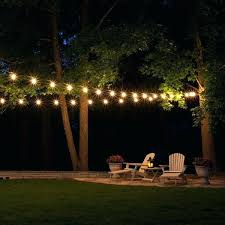 Outside Patio String Lights Outdoor Patio Lights Chatel Co