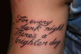 awesome short wrist quotes tattoos real photo pictures images