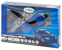 model car toy 1 32 amazon com testors subaru impreza wrx car 1 32 scale toys u0026 games