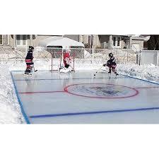 Making Backyard Ice Rink Backyard Hockey Rink David Hale S Backyard Rink Howard Corner Of