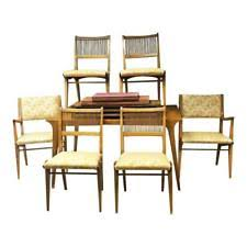 Mid Century Dining Table And Chairs Mid Century Modern Antique Dining Sets Ebay