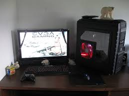 home accessories fantastic gaming setup ideas with pc game stick